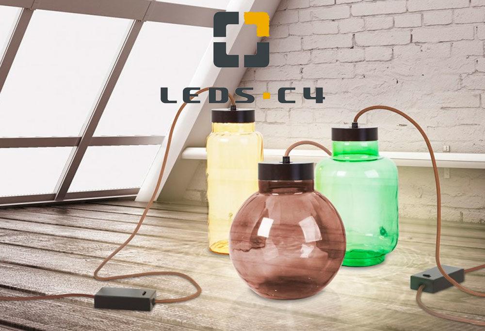 Lámparas y Ventiladores de Techo Leds C4